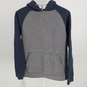 Tek Gear Boy's Blue and Gray Pullover Hoodie
